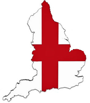 england flag map