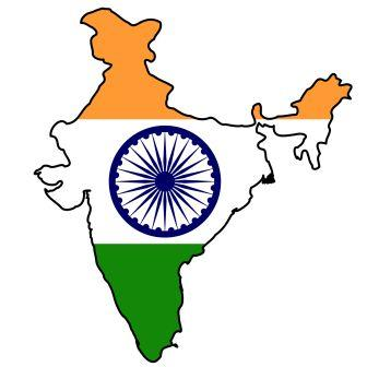 india_flag_map