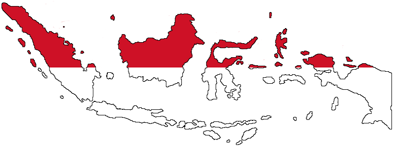indonesia-flag-map