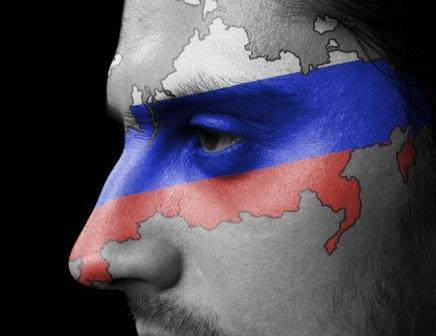 russia-flag-on-face