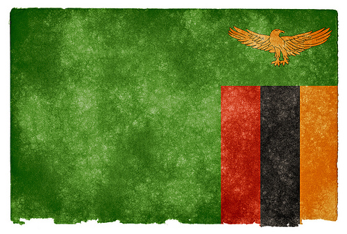Zambia flag photo