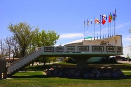 UFO Landing Pad St. Paul, Alberta